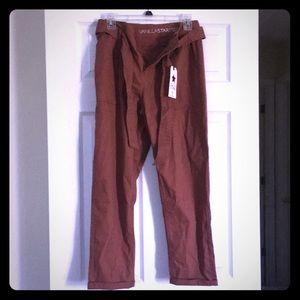 BNWT medium women's belted utility pants